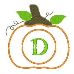 Monogram Pumpkin-1