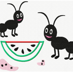 Watermelon and Ants