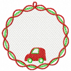 fsl-car-christmas-ornament
