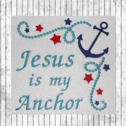 Jesus is my Anchor-1