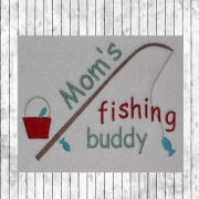 Moms Fishing buddy-1