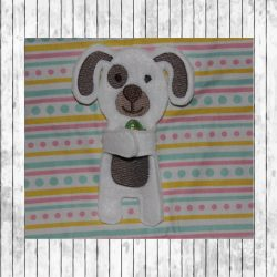 ITH Puppy Candy Holder 5x7